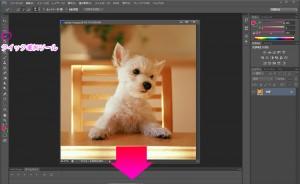 photoshop s6 切抜き画像 犬
